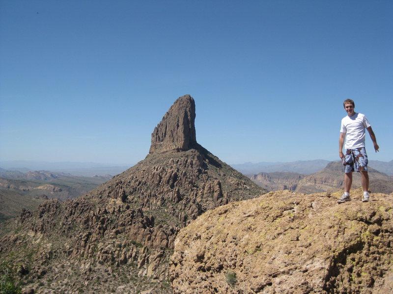 Rock Climbing Photo: Peralta Trail