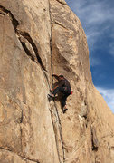"Rock Climbing Photo: ""Fire or Retire"". Photo by Blitzo."