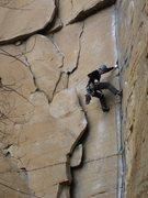 Rock Climbing Photo: Hanging out on Rock Wars.