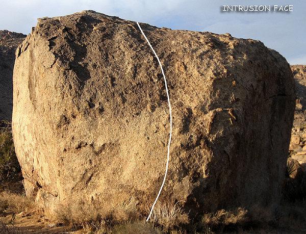 "Rock Climbing Photo: ""Intrusion Face"". Photo by Blitzo."