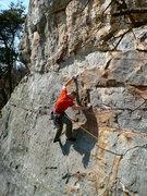 Rock Climbing Photo: Comfortably Numb, Sandrock, AL