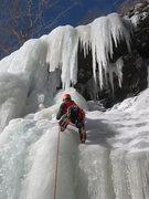 Rock Climbing Photo: Ben Annibali leading p1 of The Curtain