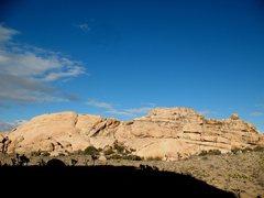 Rock Climbing Photo: Little Hunk - SW Face, Joshua Tree NP
