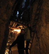 Rock Climbing Photo: Jonny, and I playing in a historical gold mine in ...