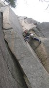 Rock Climbing Photo: Starting out up Old Town on a nice (relative) Janu...