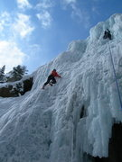 Rock Climbing Photo: Gordon on a self-belay.
