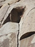 Rock Climbing Photo: Pope's Crack, Direct Finish
