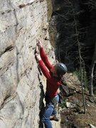 Rock Climbing Photo: Psyberpunk, Red River Gorge KY