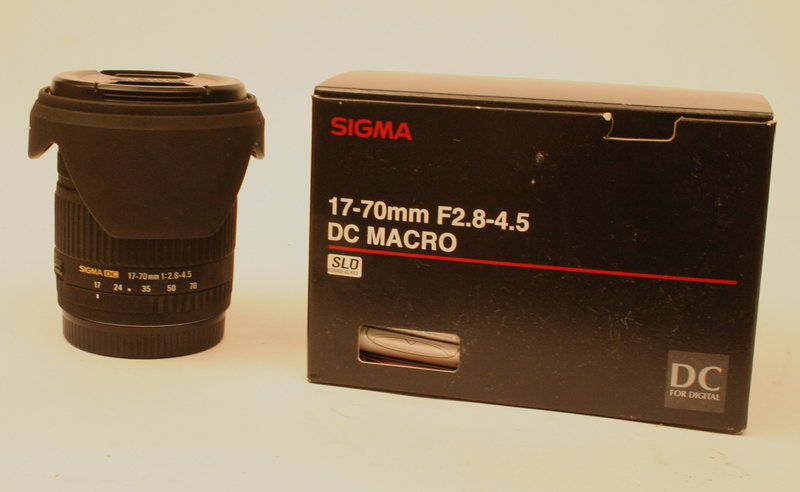 Canon 17-70 mm
