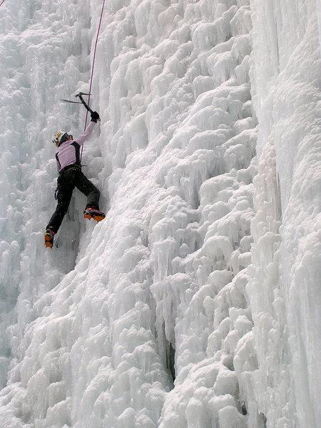 Rock Climbing Photo: Gillian, 2005.