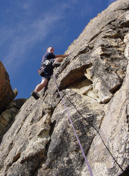 Marc Schiffhauer, Blasting Cap, Motherlode Rock, Holcomb Valley Pinnacles, CA