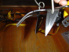 Rock Climbing Photo: Details of the Grivel 2f.  Rust free, barely used....