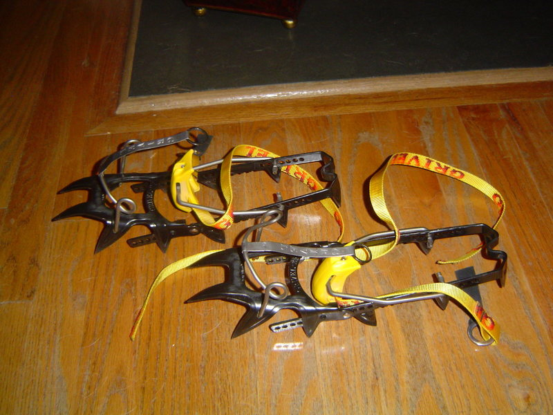 Rock Climbing Photo: Grivel 2f crampons.  Barely used.