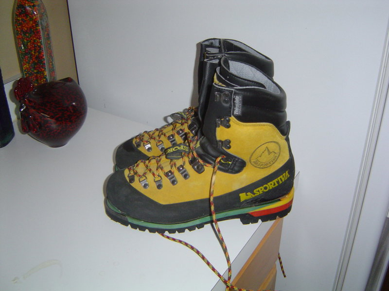 Nepal Extremes, European 42.5 I believe.  The tongues says E  42.5  43.5.  They fit my perfectly and I wear a size 9, US.
