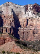 Rock Climbing Photo: BWIABegins is the shaded line up the center on the...
