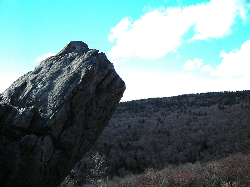 Lonley Boulder<br> Highlands Area<br> GHSP, VA