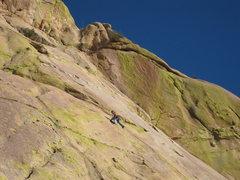 Rock Climbing Photo: Pitch 2  Photo by Alex the Scandinavian
