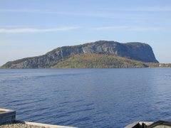 Rock Climbing Photo: the cliffs of Kineo