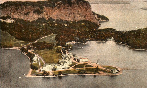 kineo from the air