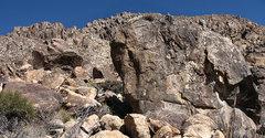 Rock Climbing Photo: Larry Flynt Boulders. Photo by Blitzo.