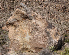 Rock Climbing Photo: Last Call Boulder. Photo by Blitzo.