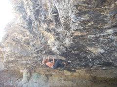 Rock Climbing Photo: Fugazi V10