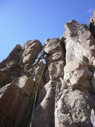 Rock Climbing Photo: Crux....