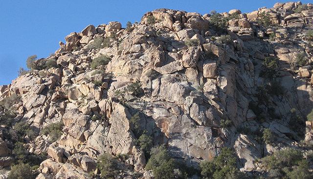 Rock Climbing Photo: Hill Street Blues-Left side. Photo by Blitzo.