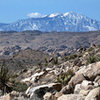 San Jacinto as seen from Queen Valley.<br> Photo by Blitzo.