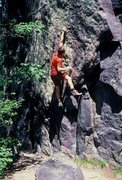 Rock Climbing Photo:    On a fine May day in 1985,... Eric Zschiesche s...