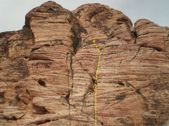 Rock Climbing Photo: Viagra Tower - Winger 40' 5.6 TR