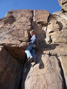 Rock Climbing Photo: Out for a little solo climb.