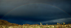 Rock Climbing Photo: High Desert Rainbow. Photo by Blitzo.