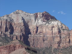 Rock Climbing Photo: The Southeast Face of the West Temple! 16 rope str...