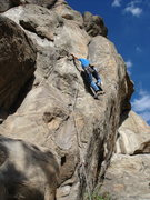 Rock Climbing Photo: John Slezak on the Leaning Flake. the Leaning Corn...