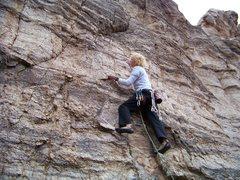Rock Climbing Photo: positive everywhere.