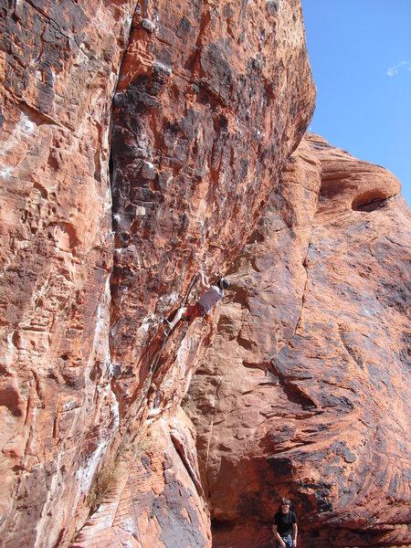 Rock Climbing Photo: Sissy Traverse