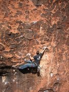 Rock Climbing Photo: Without good technique this move may feel a bit re...