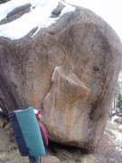 Rock Climbing Photo: In this photo This Thing is sadly too snowy to cli...