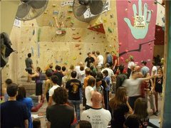 Rock Climbing Photo: Highball pit at 2009 T&D comp