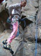 Rock Climbing Photo: Sea urchin, Vulgarian style!