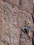 Rock Climbing Photo: Chawn Harlow enjoying Accelerated Climbology