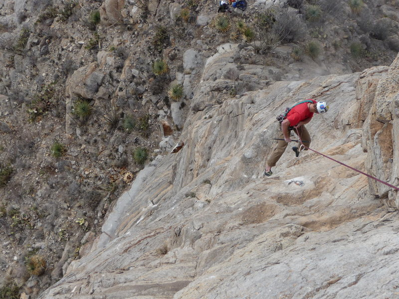 Rock Climbing Photo: Rock! (part 2) - you can see the rock lower down a...