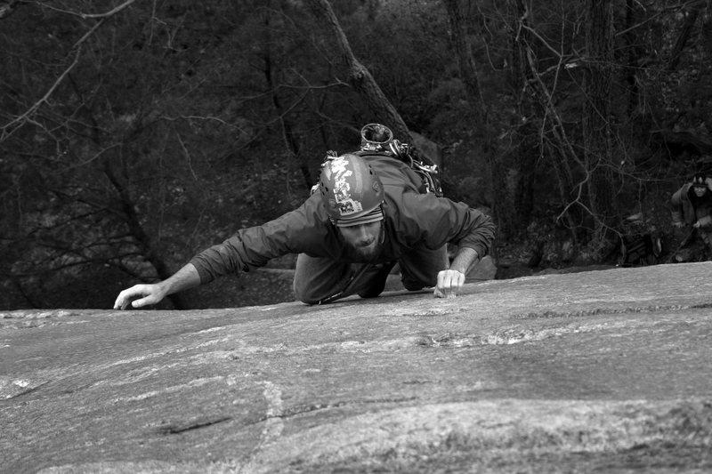 Rock Climbing Photo: pull'in2