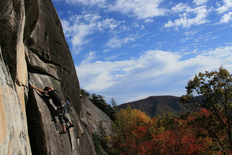 perfect fall climbing day