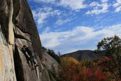 Rock Climbing Photo: perfect fall climbing day