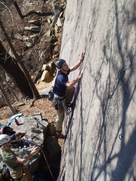 Rock Climbing Photo: Start of Solstice