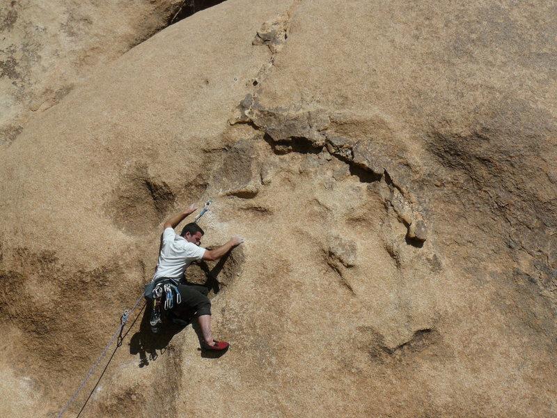 Rock Climbing Photo: Justin Slagle bustin' a move on Go Ask Alice