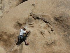 Rock Climbing Photo: Justin Slagle bustin' a move on Go Ask Alice