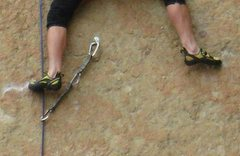 Rock Climbing Photo: Yellow Shoes are KING!